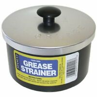 Strainer Storage Reuse Container Frying Cooking Oil Nonstick Bacon Grease