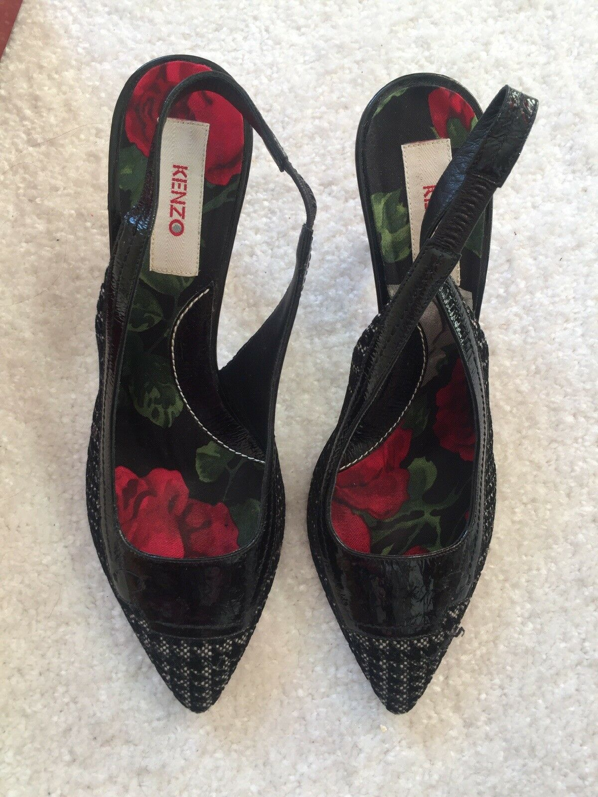 Kenzo chaussures noir with heels Taille 40 7