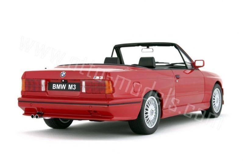 OTTO OTTO OTTO MOBILE BMW M3 COUPE CABRIO E30 rosso 1:18 Long Sold Out*Last One e11003
