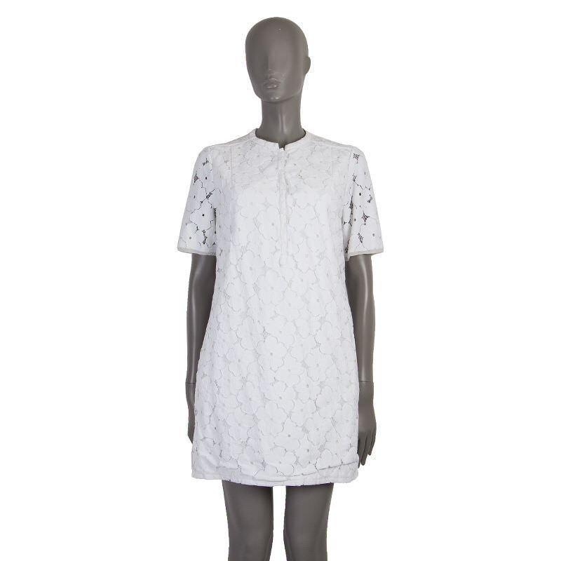 53084 Auth Diane von Furstenberg Encaje blancoo Vestido tubo de  manga corta M DVF  Entrega gratuita y rápida disponible.