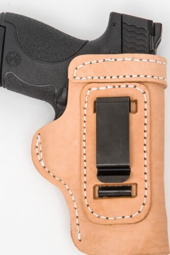 Pro Carry LT RH LH OWB IWB Leather Gun Holster For Dan Wesson 1911 CCO 4.25