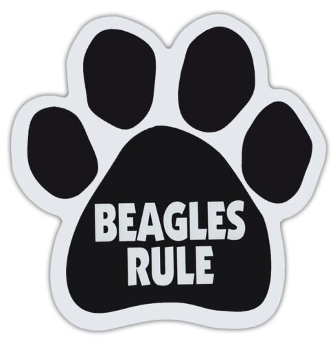 Gifts Cars Trucks Dog Paw Shaped Magnets: BEAGLES RULEDogs
