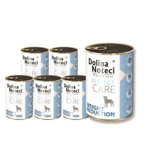 24x400g Dolina Noteci Perfect Care weight reduction bagnato lattina di mangime cibo per cani