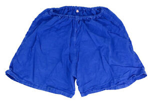 """Mens Vintage unlined Cotton German pt sports gym Army Shorts Size D5 S RED 32/"""""""