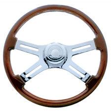 Freightliner 1989-July 2006 Steering Wheel Chrome 18 Inch Four Spoke