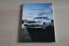 SV0416) Mercedes C-Klasse + T-Modell W204 DVD Pressekit 05/2007