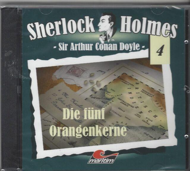 SHERLOCK HOLMES - FOLGE 4 DIE FÜNF ORANGENKERNE
