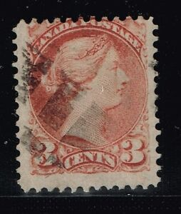 Canada-Scotts-37b-Used-Copper-Red-Lot-122015