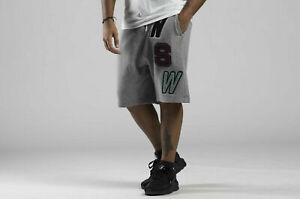 Nike-Sportswear-NSW-Men-039-s-Loosefit-Fleece-Shorts-Grey-Small