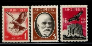 ALBANIA-50-Years-of-Independence-MNH-set