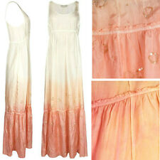 NEW ALL SAINTS SILK EMBELLISHED OMBRE SUMMER WEDDING MAXI DRESS SOLD-OUT £195