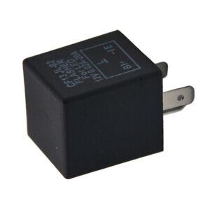 Coche-3-pin-CF-13-LED-12V-Flasher-Rele-Fix-Electronica-Para-Senal-De-Vuelta-Luz-Intermitente