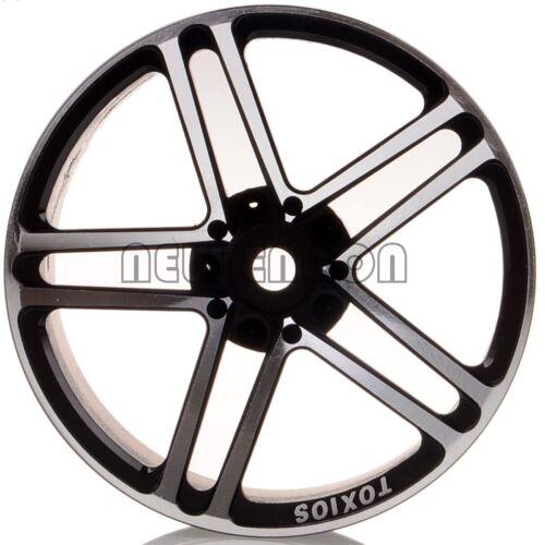 1//10 On-Road Drift Sakura BLACK HSP 1054 Tamiya Aluminum 5 Spoke AMG Wheels//Rims
