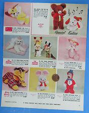 TOY TRADE MAGAZINE AD 60s/70s vtg Baby Barry Rushton Knickerbocker Toy Co MITTEN