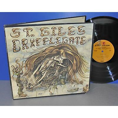 Jack Nitzsche St. Giles Cripplegate USA '72 Reprise beautiful Cover Vinyl LP TOP