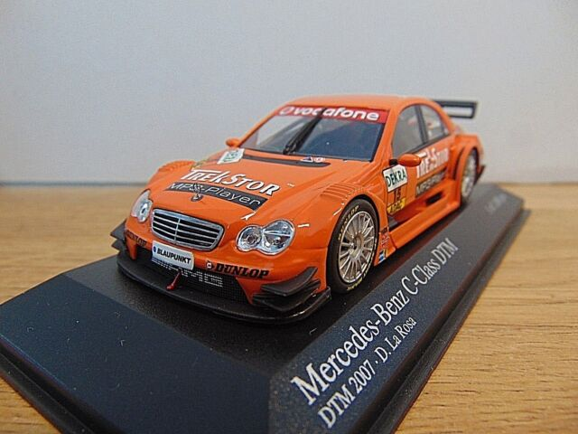 Mercedes - Benz C-Class * DTM 2007 * D. La Posa #15 * 1:43 Minichamps 400073615