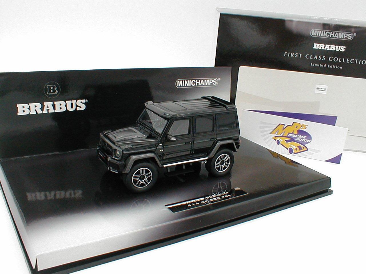 Minichamps 437032460 - Mercedes Brabus 500 4x4 Baujahr 2016   Schwarz   1 43 NEU  | Spielzeugwelt, spielen Sie Ihre eigene Welt