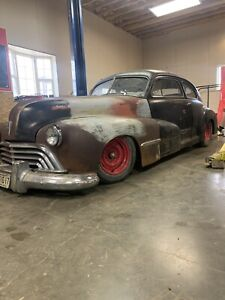 1948 Oldsmobile project
