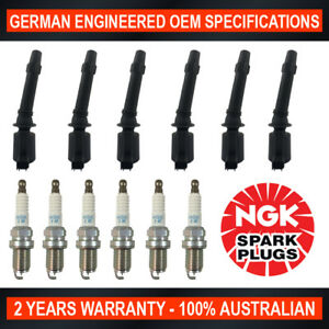 6x-Ignition-Coils-for-Ford-Falcon-BA-amp-6x-Genuine-NGK-Iridium-Spark-Plugs