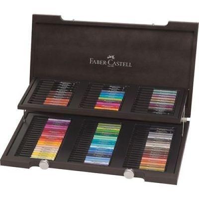 Faber Castell Pitt Artist Brush Pen Set - 90 Colours Wooden Box - 167400