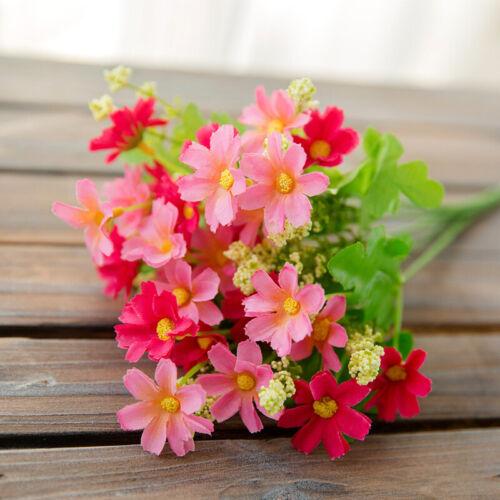 Künstlich Blumen Gänseblümchen Draussen Rose Strauß Blumen ZuhauseDekor