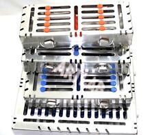 4 Detachable Dental Autoclave Sterilization Cassettes For 15107amp5 Instruments
