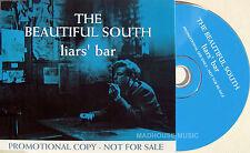 The BEAUTIFUL SOUTH CD Liars ' Bar UK 1 TRACK PROMO w/ PROMO Stickers