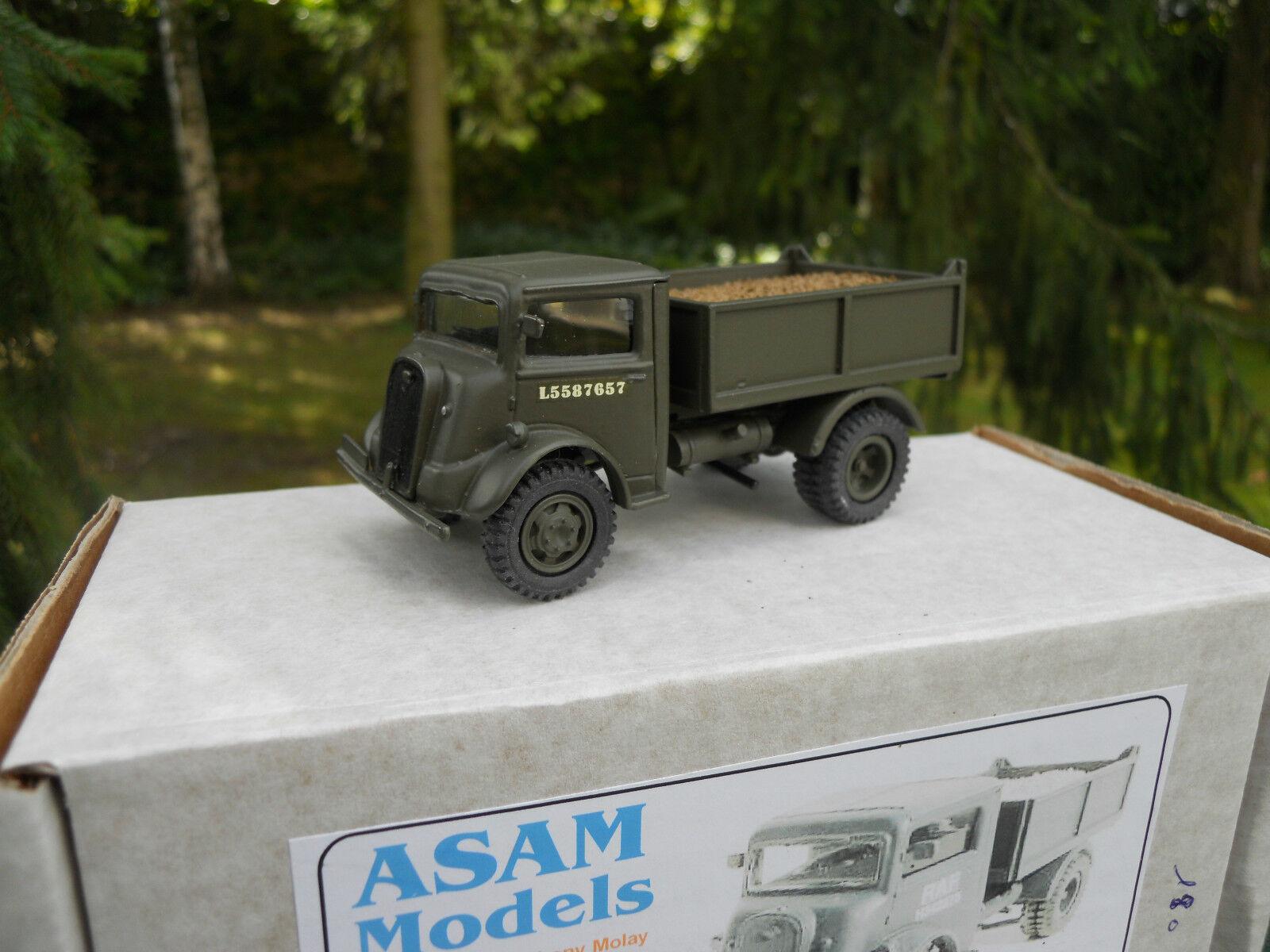 Military vehicle asam models ref ht 311 fordson 76v 4x2 tipper mint in box