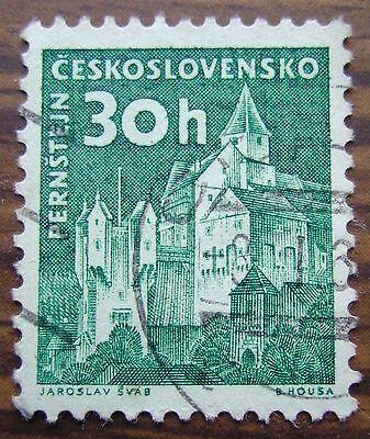 1 Briefmarke Burg Pernstein - 30 Heller (tschechoslowakei 1960) Michel Nr. 1188 In Den Spezifikationen VervollstäNdigen