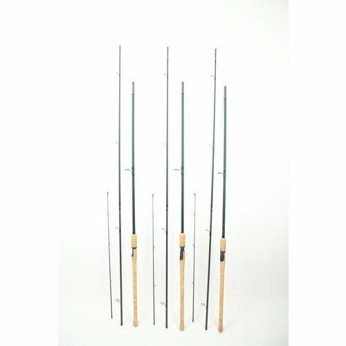 Fox Bob James travel specimen 12ft 2.25lb set of 3 | 5 parts | carp rods
