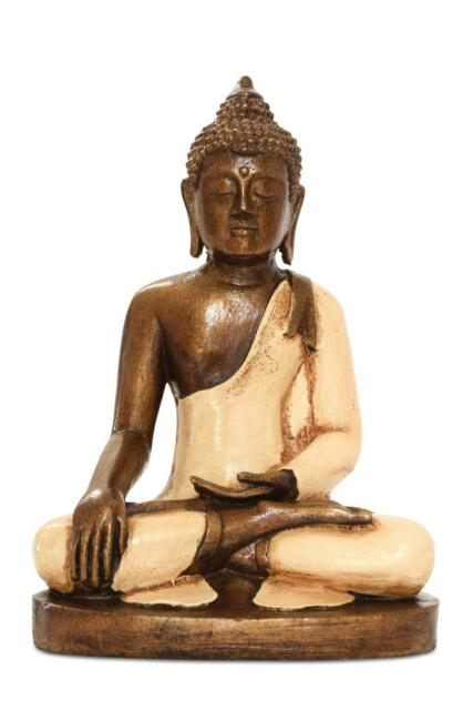 Buddha Sitting Ornament Resin Figure Statue Sculpture Meditating Figurine For Sale Online Ebay