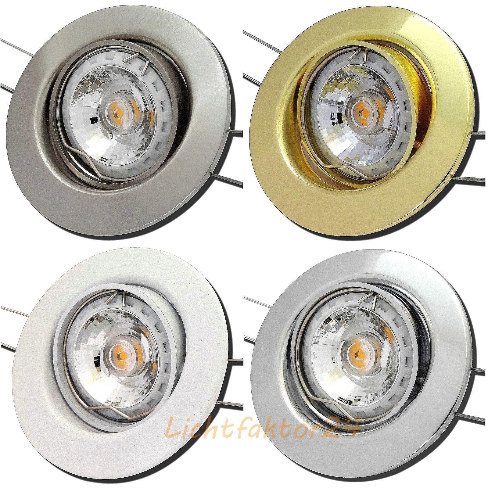 Reflekor COB LED Einbauleuchte Thomas   Gu10   EEK A   3W30W   220V   Hochvolt | Lebhaft  | Zu einem erschwinglichen Preis  | Günstige Bestellung