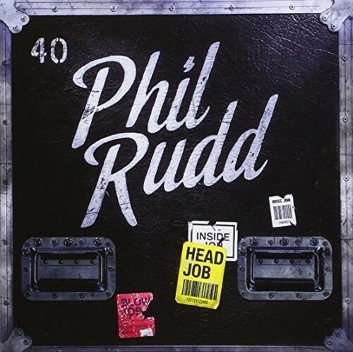Phil Rudd - Head Job [New Vinyl LP] With CD, UK - Import