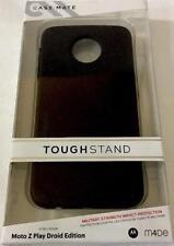 New Original CASE-MATE Tough Stand Black Case Motorola Moto Z Play Droid Edition