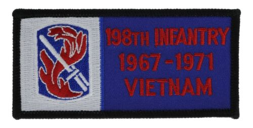 198th Infantry /'67-/'71 Vietnam Army patch H1171D31