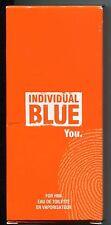 (100ml=24€) Avon - individual blue you - Eau de Toilette