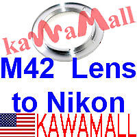 M42-lens-to-Nikon-Camera-Mount-Adapter