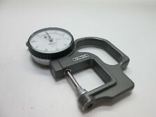 Mitutoyo 7305 Metric Dial Indicator Thickness Gauge Missing Lifting Lever
