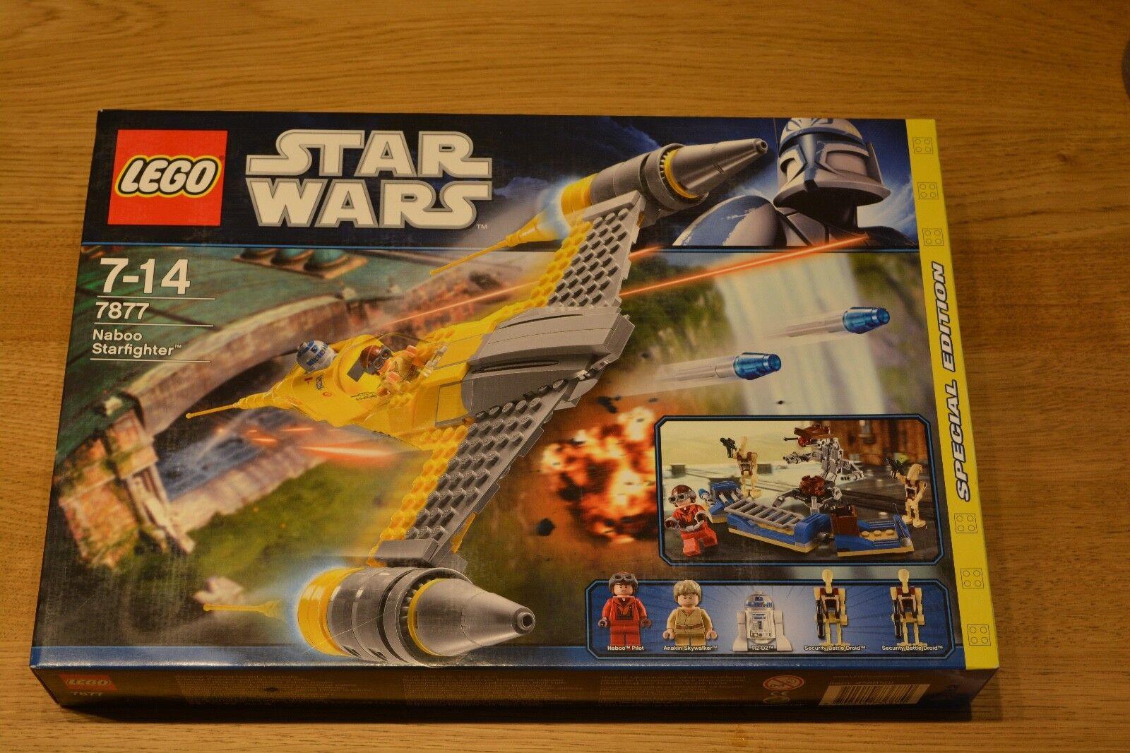 Lego Ninjago, Naboo Starfighter (7877), NEU und OVP