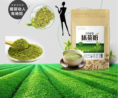 100g YPFEN Matcha Powder Green Tea Pure Organic Natural Premium Loose Certified