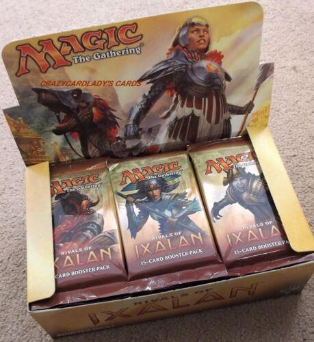 MAGIC RIVALS OF IXALAN ENGLISH 1/6 BOOSTER BOX LOT = 6 PACKS FREE SAME DAY SHIP