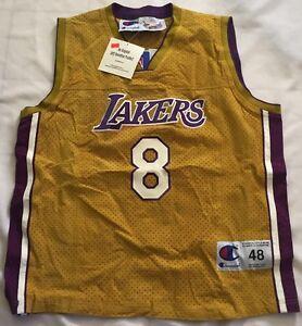 Kobe Bryant #8 Jeff Hamilton Suede Jersey!!! Brand New w Original Tags!!! Sz 48