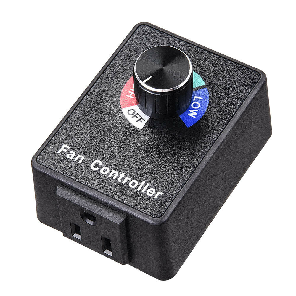 Variable Fan Router Speed Controller Hydroponics Inline Fan And Mini Blower UK-U