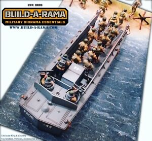 1-30-Diorama-DDay-Mat-for-King-Country-K-amp-C-LCVP-First-legion-Conte-54mm-1-32