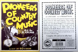 R-CRUMB-PIONEERS-OF-COUNTRY-MUSIC-TRADING-CARDS-SET-40-CARDS-IN-SEALED-BOX