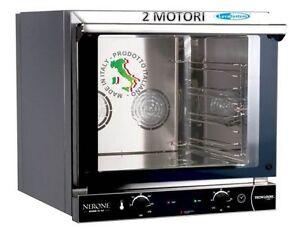 Forno elettrico professionale a convenzione 4 teglie mm - Piastra refrattaria per forno casalingo ...