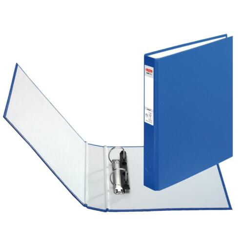 Herlitz Ringbuch DIN A5 mit 2-Ringe Farbe blau