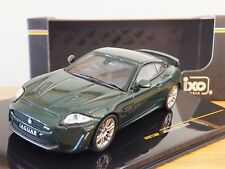 IXO JAGUAR XK R-S 2010 BRITISH RACING GREEN CAR MODEL MOC138P 1:43