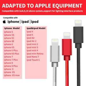 Lightning-Cable-3-6-10FT-Charger-Cord-Heavy-Duty-for-Apple-iPhone-7-6s-Plus-8-XS