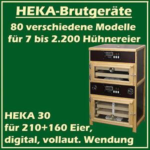 HEKA-30-completamente-automatico-Incubatrice-con-Set-Spazio-slittamento-per
